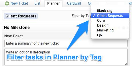 planner multi valued tags
