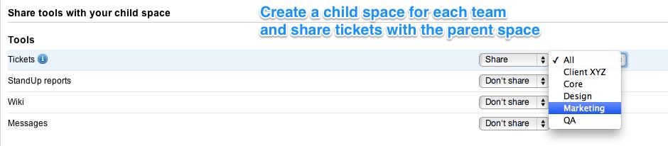 child space creation